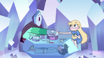 S2E34 Star Butterfly and Rhombulus shake hands