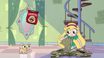 S2E25 Star Butterfly flipping through the book