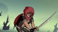S2E31 Adult Marco wielding a katana