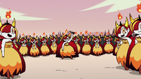S2E31 Hekapoo surrounded by her clones