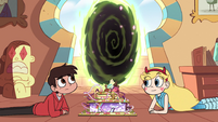 S2E11 Marco sees a dimensional portal open
