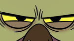 S2E8 Close-up on Ludo's angry face