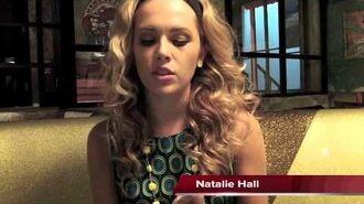 Natalie Hall Talks Star Crossed on the set