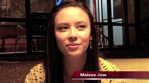 Malese Jow Talks Star-Crossed on the set