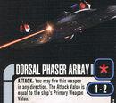 Dorsal Phaser Array (Cost *)