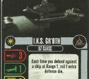 I.K.S. Gr'oth - D7 Class (Cost 18)