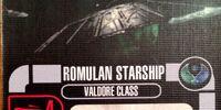 Romulan Starship - Valdore Class (Cost 28)