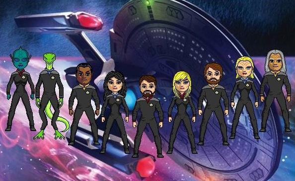 Crew of the Titan by cptmeatman