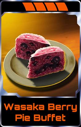 Wasaka Berry Pie Buffet