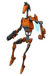 Rocket battle droid