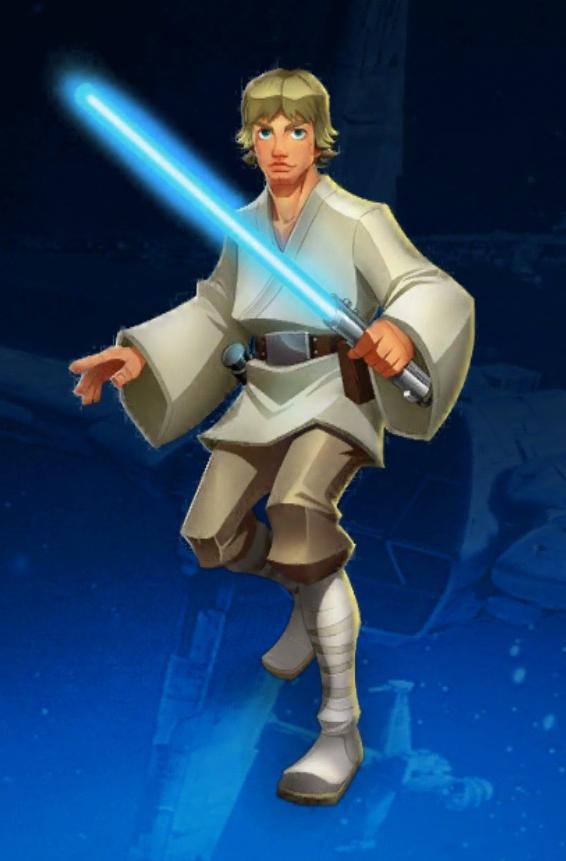 Luke Skywalker Star Wars Galactic Defense Wiki Fandom