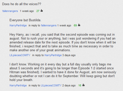 File:Episode 2 release date (The Starbarians' Die YouTube comments).png
