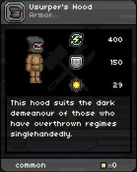 Usurper's Hood
