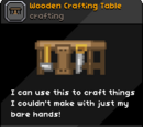 Wooden Crafting Table