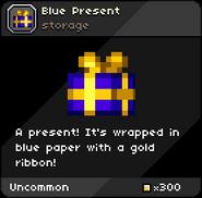 Blue Present tooltip