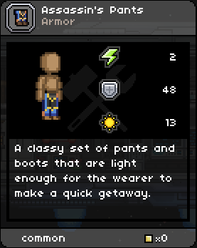 Assassin's Pants
