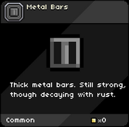 Metal Bars infobox
