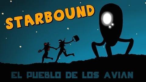 Starbound Beta en Español - Ep 02 - El pueblo de los Avian