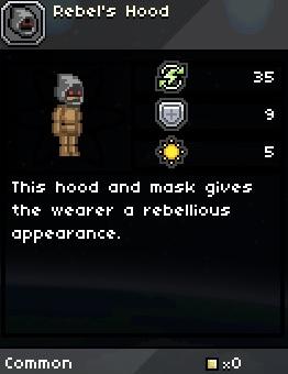 Rebels hood