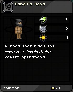 Bandit's Hood
