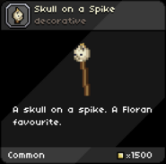 Skull on a Spike tooltip