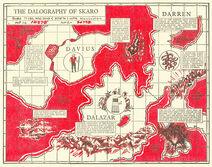 Skaro map
