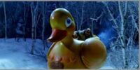 The Penguin's Duck Vehicle