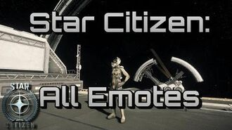 Star Citizen - All Emotes