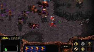 Starcraft Brood War - Zerg Mission 8 To Slay the Beast