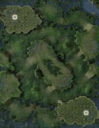 JungleBasin SC2 Map1