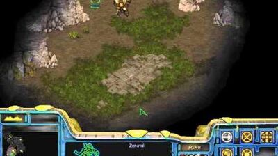 Starcraft Brood War - Protoss Campaign Mission 1 - Escape from Aiur Walkthough Lets Play