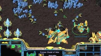 Starcraft Brood War - Protoss Campaign Mission 6 - Return to Char Walkthough Lets Play