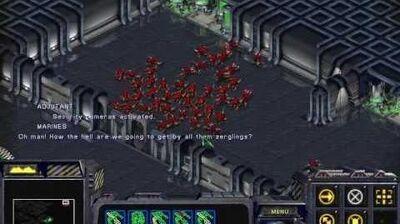 Starcraft Brood War - Terran Campaign Mission 7 - Patriot's Blood Walkthough Lets Play