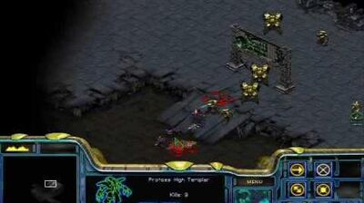 Starcraft - Protoss Mission 4 The Hunt for Tassadar