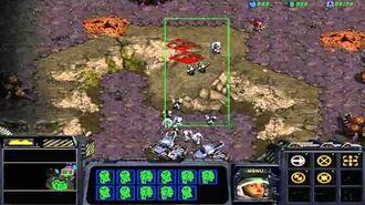 StarCraft Brood War Campaign Enslavers -- Episode I 1. Schezar's Scavengers