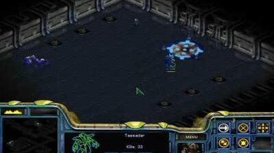 Starcraft - Protoss Mission 6 Into the Darkness