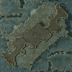 TwistedPeak SC2 Map1
