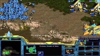 StarCraft Brood War Campaign Enslavers -- Episode I 2B. The Rescue (Protoss Option)