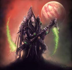 SCII Dark Templar Zer'atai Concept Art