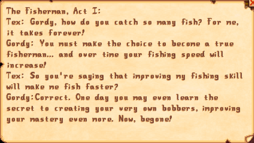 The Fisherman, Act I
