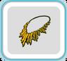 GoldSpikeNecklace