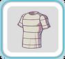 WhiteStripedTshirt