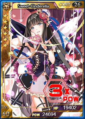 Ultimate Sweet-Cinderella Level 60 (Flash)