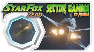 Star Fox Zero - Sector Gamma To Fichina! Wii U Gameplay Walkthough With GamePad 1