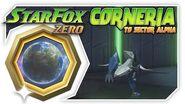 Star Fox Zero - Corneria To Sector Alpha! Wii U Gameplay Walkthough With GamePad 2