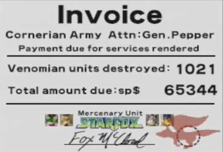 Archivo:StarFox Team Service Invoice.jpg