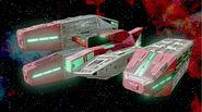 Boss attack carrier-interplanetary combat ship