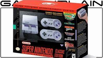 Super NES Classic Edition Announced! 21 Games STAR FOX 2 Built-In