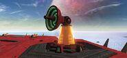 Parabolic laser cannon