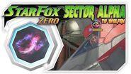 Star Fox Zero - Sector Alpha To Wolfen! Wii U Gameplay Walkthough With GamePad